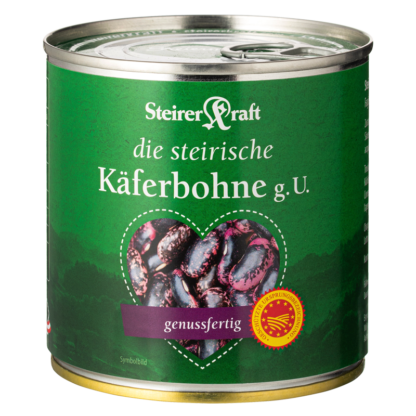 Oostenrijkse eetklare bonen in blik Steirerkraft